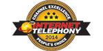 2014 Internet Telephony Channel Program Excellence Award — Toshiba won 'People's Choice' award
