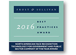 Frost & Sullivan 2016 NORTH AMREICA Company of the Year Award