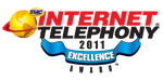 IP<em>edge</em> Wins 2011 Internet Telephony Excellence Award