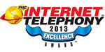 Toshiba's IPMobility Wins 2013 Internet Telephony Excellence Award